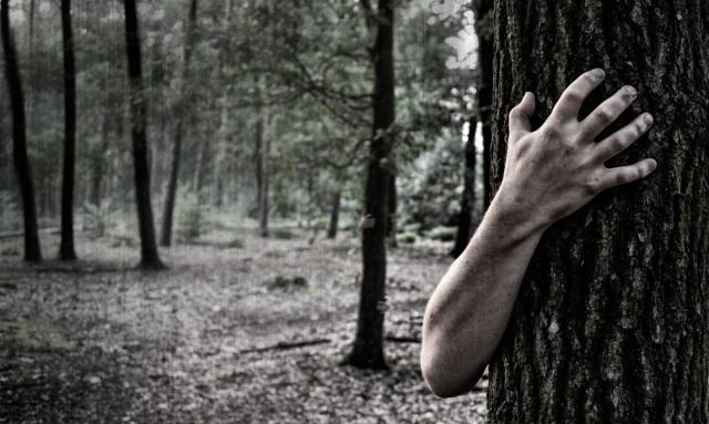 Hands trees b&W2