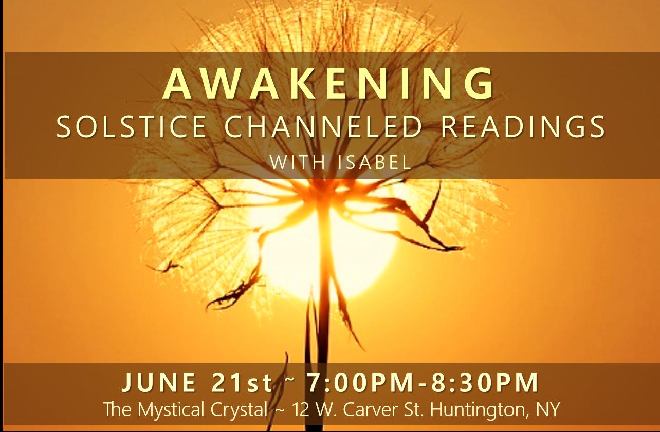Awaking Solstice Event