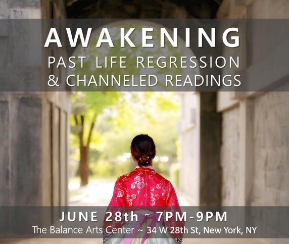 Past Life Regression June 28th