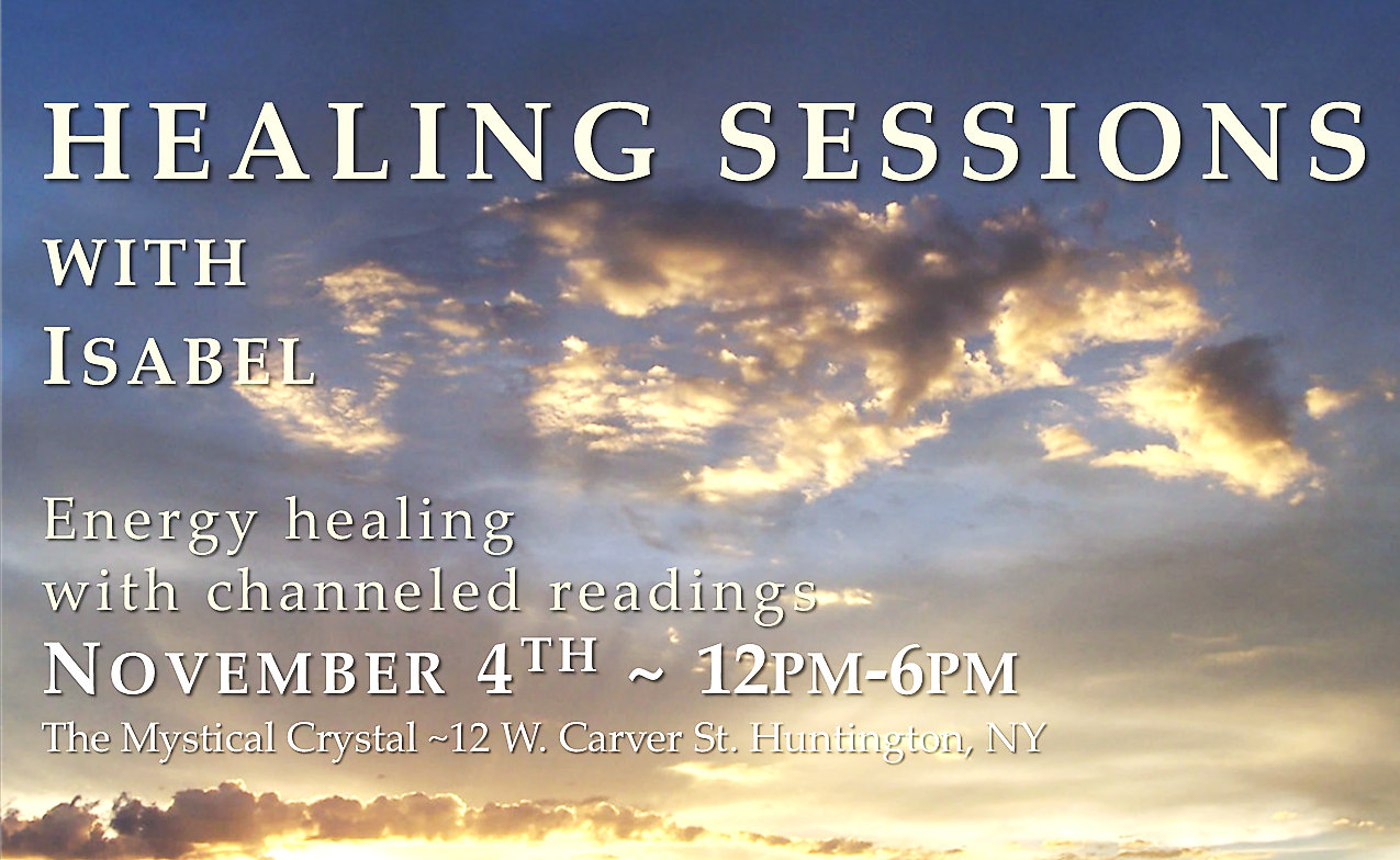 Healing Sessions with Isabel
