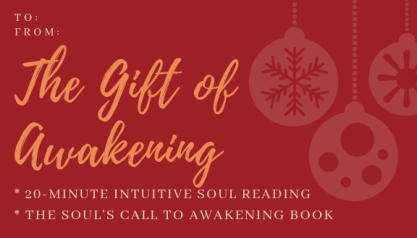 The Gift of Healing BOOK & SESSION
